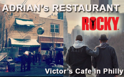 A Look at Adrian's Restaurant from Rocky Balboa! Victor's in Philly!
