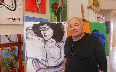 Burt Young: Great Video Presentation of his Artwork!
