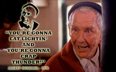 Remembering Burgess Meredith: Rocky's Mickey Goodmill