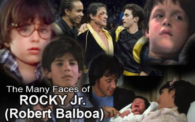 Rocky Jr. -Robert Balboa- The different actors through the Decades!