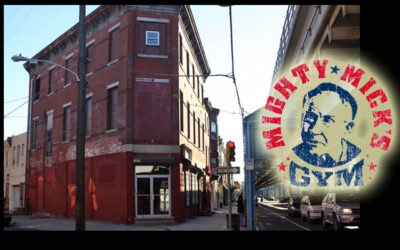 Mighty Mick's Gym from the ROCKY Movies! Plus EXCLUSIVE Paulie video in front of Mick's!