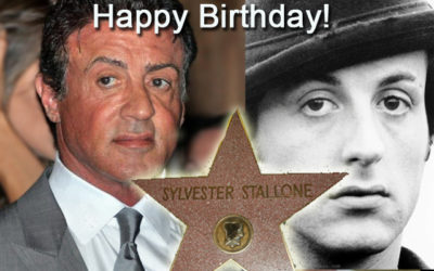 Wishing Sylvester Stallone a Very Happy 70th Birthday!