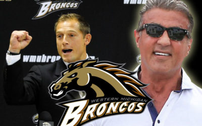 Sylvester Stallone Surprises WMU Broncos Kasey Carson with Scholarship! (Video)