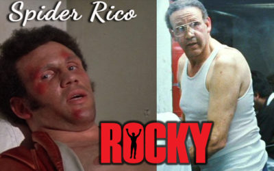 Boxer Phenom Pedro Lovell: Spider Rico from the ROCKY Movies!