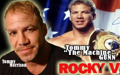 "Remembering Tommy Morrison: ROCKY V's Tommy ""Machine"" Gunn!"