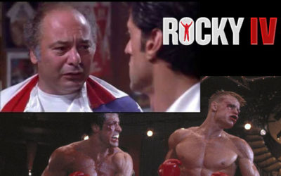 PAULIE! Burt Young's Famed ROCKY Character personified!